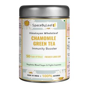 Himalayan Wholeleaf Chamomile Green Tea