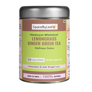 Himalayan Wholeleaf Lemongrass Ginger Green Tea