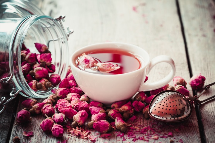 Benefits of Rose Green Tea