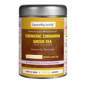 Himalayan Wholeleaf Turmeric Cinnamon Green Tea
