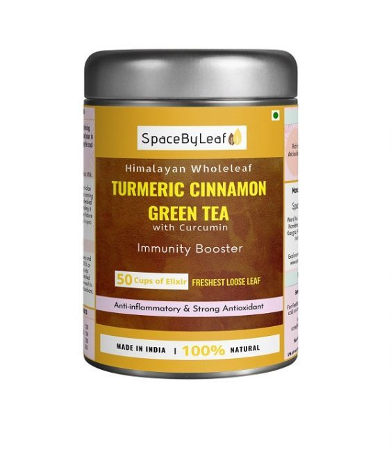 Turmeric Cinnamon Green Tea